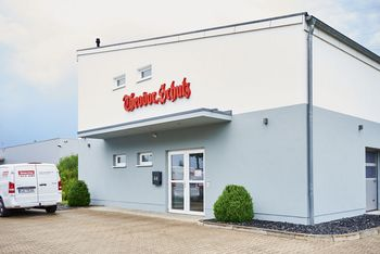 <p>The 410 square meter new build in the Lübeck industrial area has been the headquarters for the last five years</p>