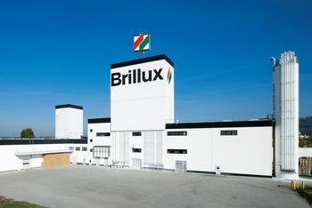 <p>The Brillux plant in Malsch near Karlsruhe: Production of plasters, dispersions and powder adhesives</p>