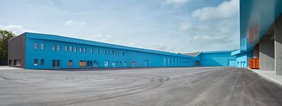 Into the blue: Augsburg recycling depot