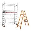Ladders and scaffolding