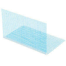 Reinforcement mesh, expansion joints and corner profiles