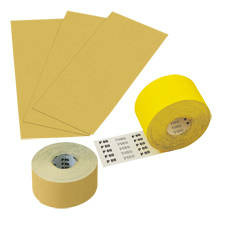 Abrasive Agent, Sheet, Strips, and Rolled Goods