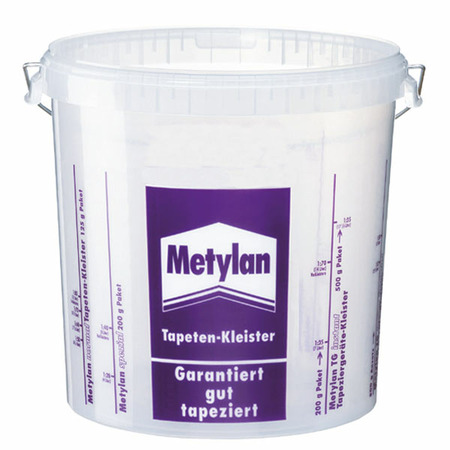 Paste mixing bucket