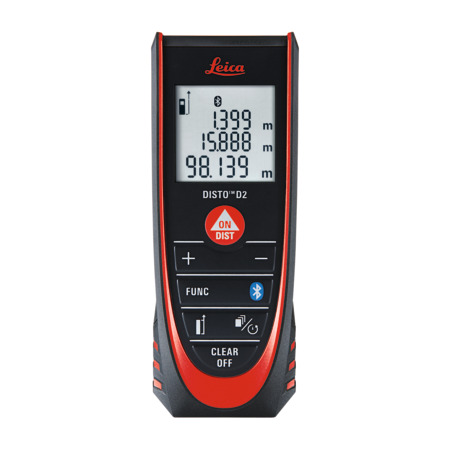 DISTO D2 Laser Distance Measuring Equipment