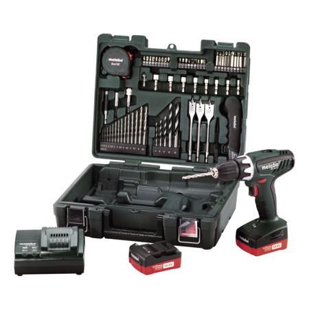 Metabo BS 14.4 Li Battery-powered Drill – Mobile Workshop